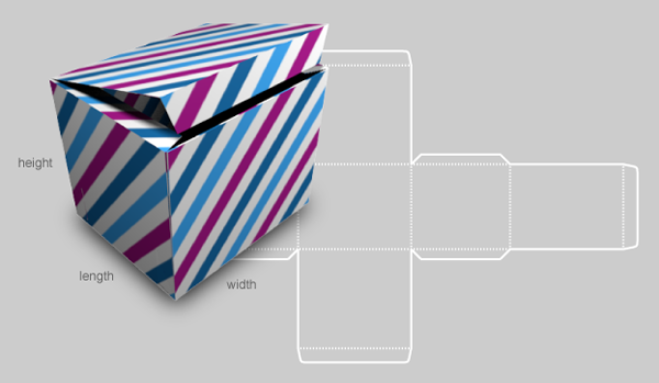 Custom box template generator how about orange for Card box template generator