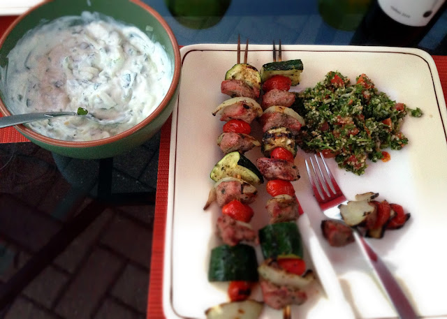 Grilled Lamb Kebab recipe
