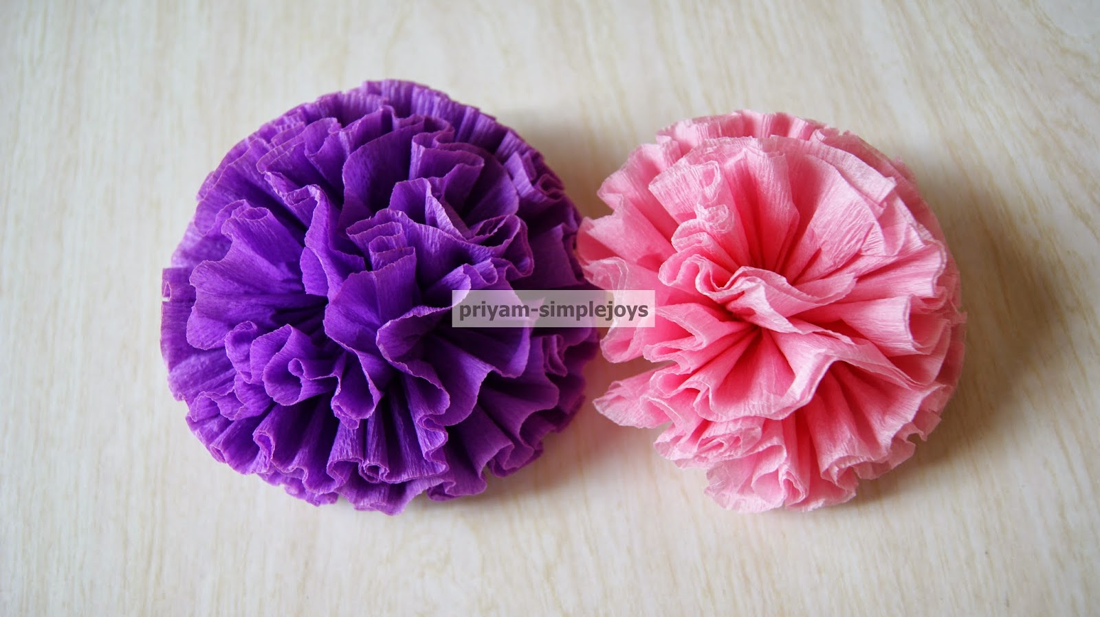 Simplejoys crepe paper flowers crepe paper flowers dhlflorist Image collections