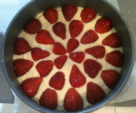 Dairy Free Strawberry Cake Raw