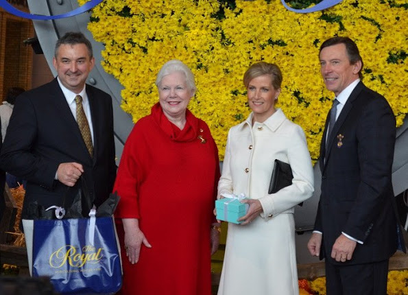 The Countess of Wessex Visited The Toronto's Royal Agricultural Fair