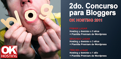 okhosting  2do Concurso Bloggers de OK Hosting