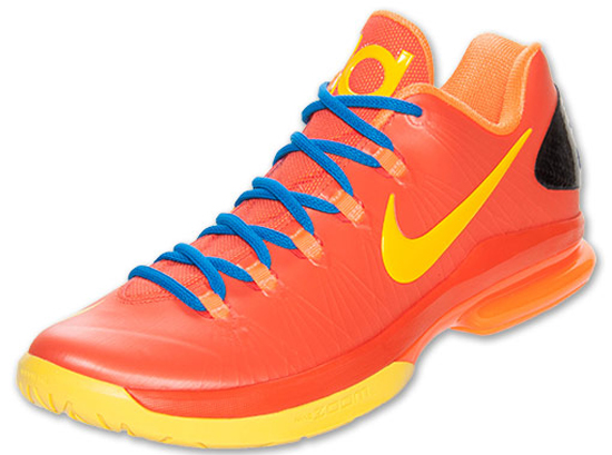 ajordanxi\u0026#39;s Sneaker World: Nike KD V Elite Team Orange/Tour Yellow-Total Orange-Photo Blue Release Reminder