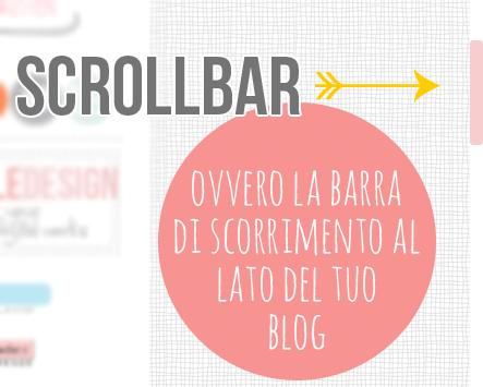 Blog deisgn: Come cambiare colore alla scrollbar