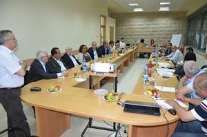 Brasileiros e palestinos se reunem em Ramallah - Cisjordania