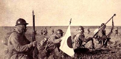 Imágenes de la invasión japonesa de Manchuria