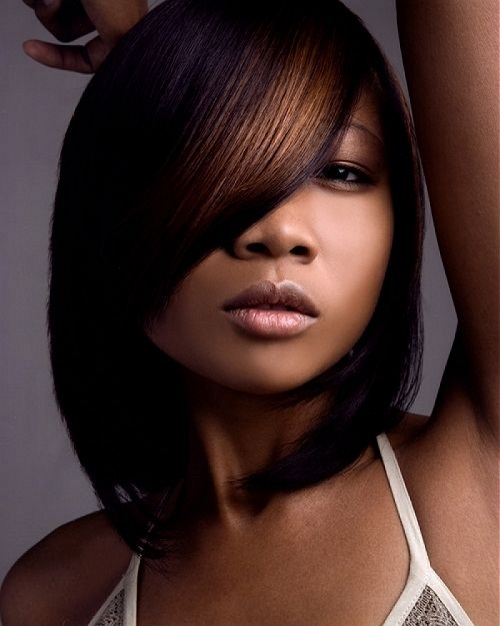 Medium Layered Hairstyles for African American Hair