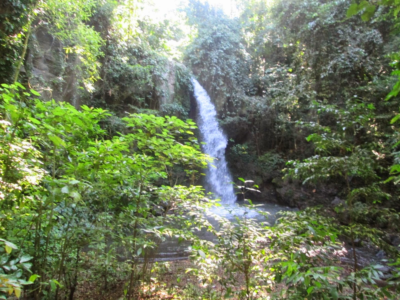 Air terjun Selogiri, Kalipuro, Banyuwangi.
