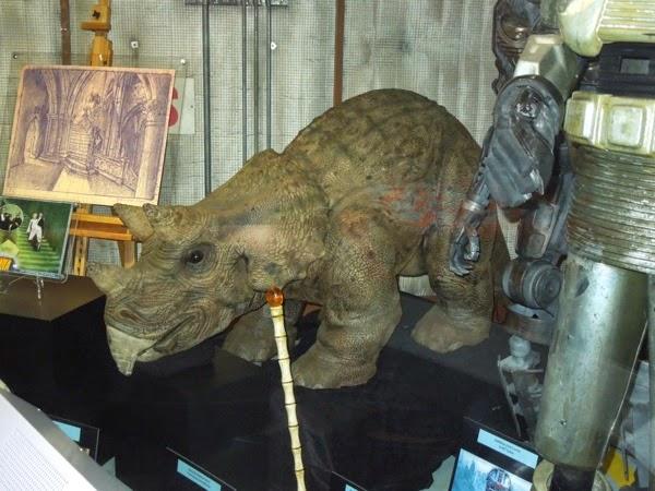 Jurassic Park animatronic triceratops