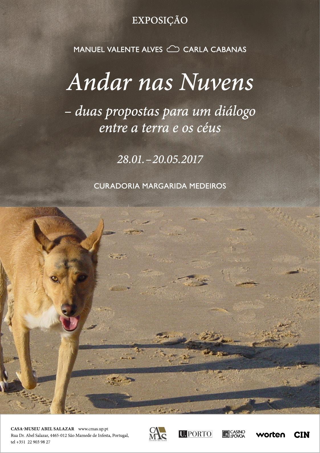 """""""Andar nas Nuvens"""", exposição de Manuel Valente Alves e Carla Cabanas, até 20/05"""