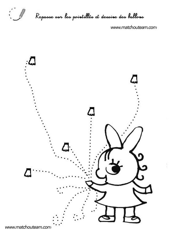 trotro graphisme en maternelle