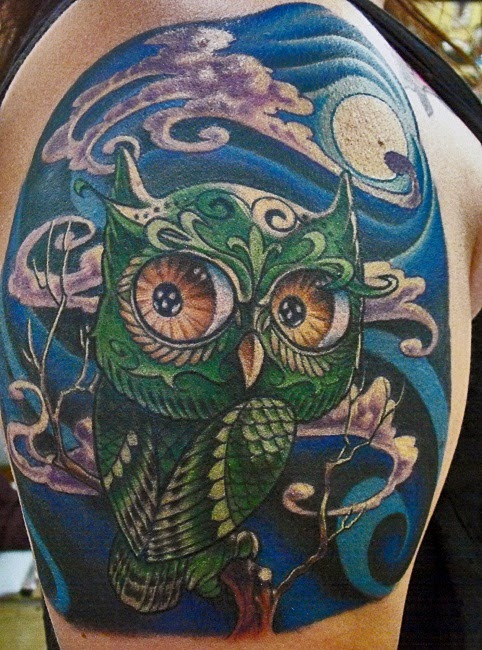 owl tattoo designs art