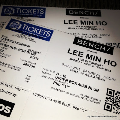 Lee Min Ho World Tour 2013