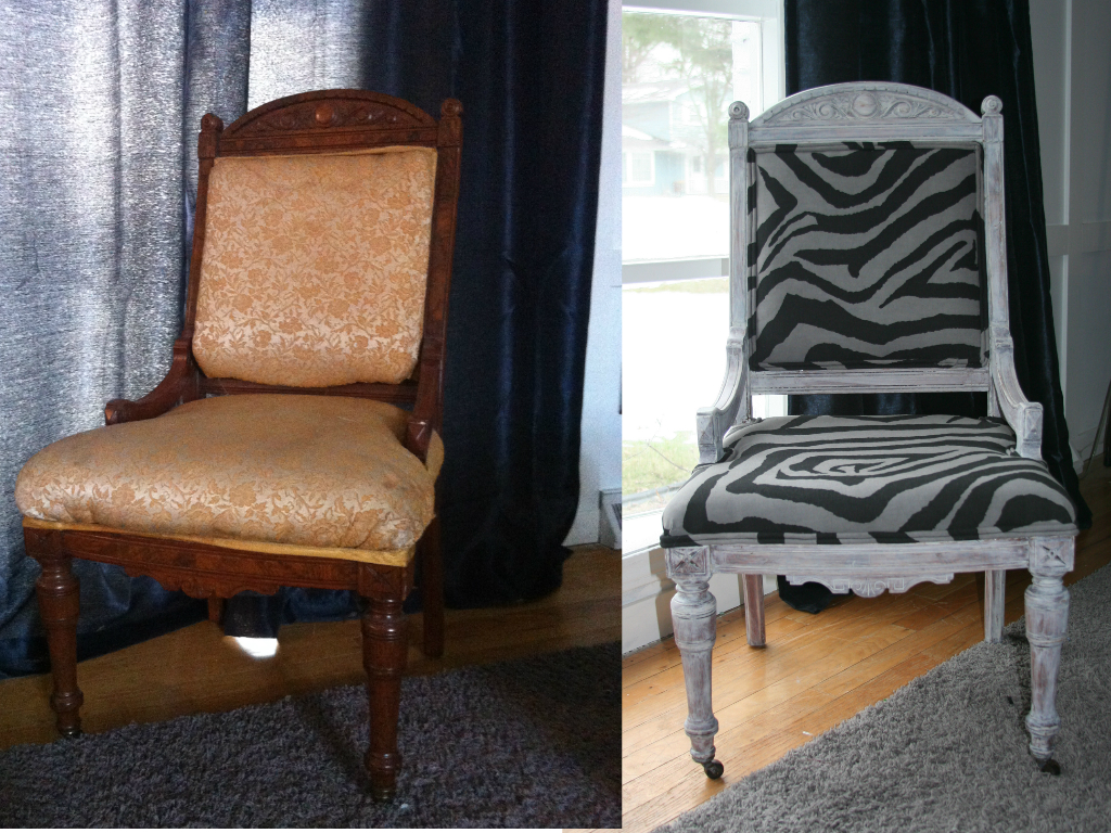 My salvaged home how to reupholster an antique chair for How to reupholster a chair
