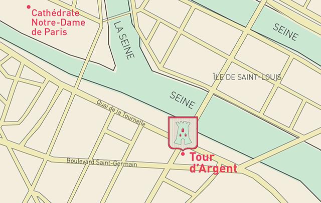 The Tour d'Argent location in Paris by Cine Gratia Cinema