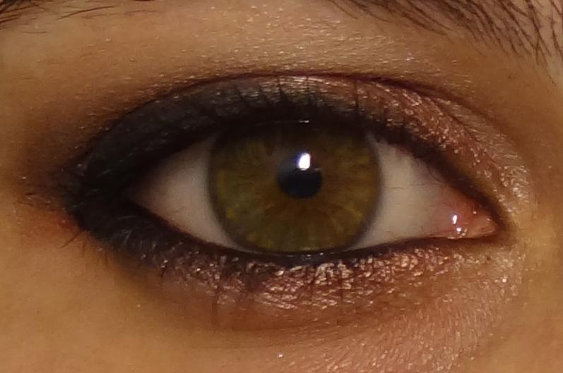 Cherry bomb d fi du mardi faire ressortir le vert de mes yeux - Comment faire ressortir les yeux verts ...