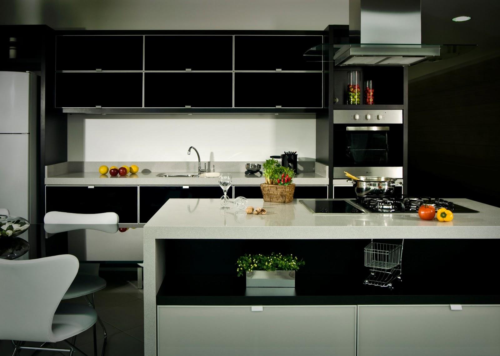 cozinhas pequenas e funcionais  Redecorando sua casa