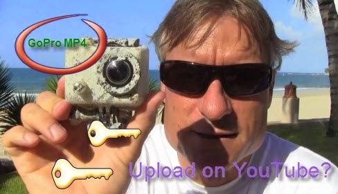 Uploading GoPro MP4 Videos on YouTube