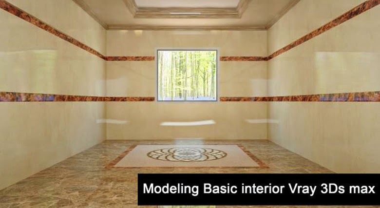Modeling basic interior using vray 3ds max 3d max for Interior modeling in 3ds max