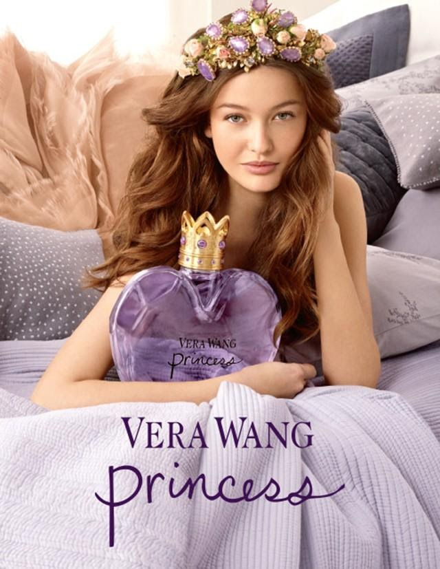 Vera Wang Princess Fragrance Campaign Featuring Kristina