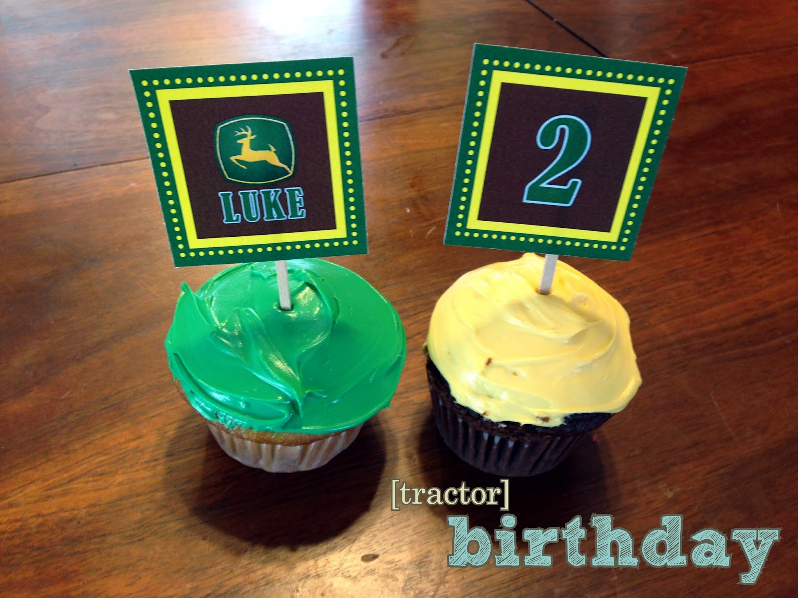 Cake Toppers Birthday Hobby Lobby : the copper coconut: Tractor Birthday Party
