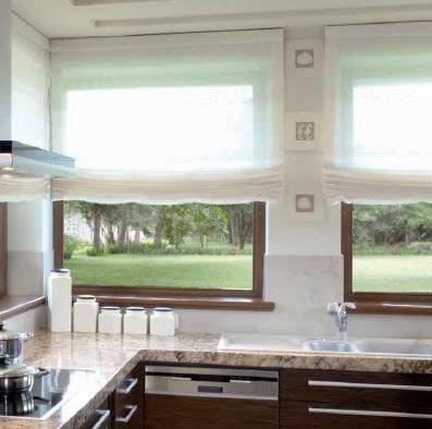 decoracion interior cortinas verticales estores enrollables puertas plegables toldos persianas - Como Hacer Un Estor Paqueto