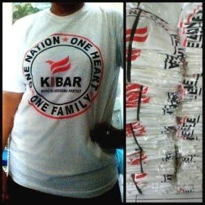 T-SHIRT Komunitas KIBAR