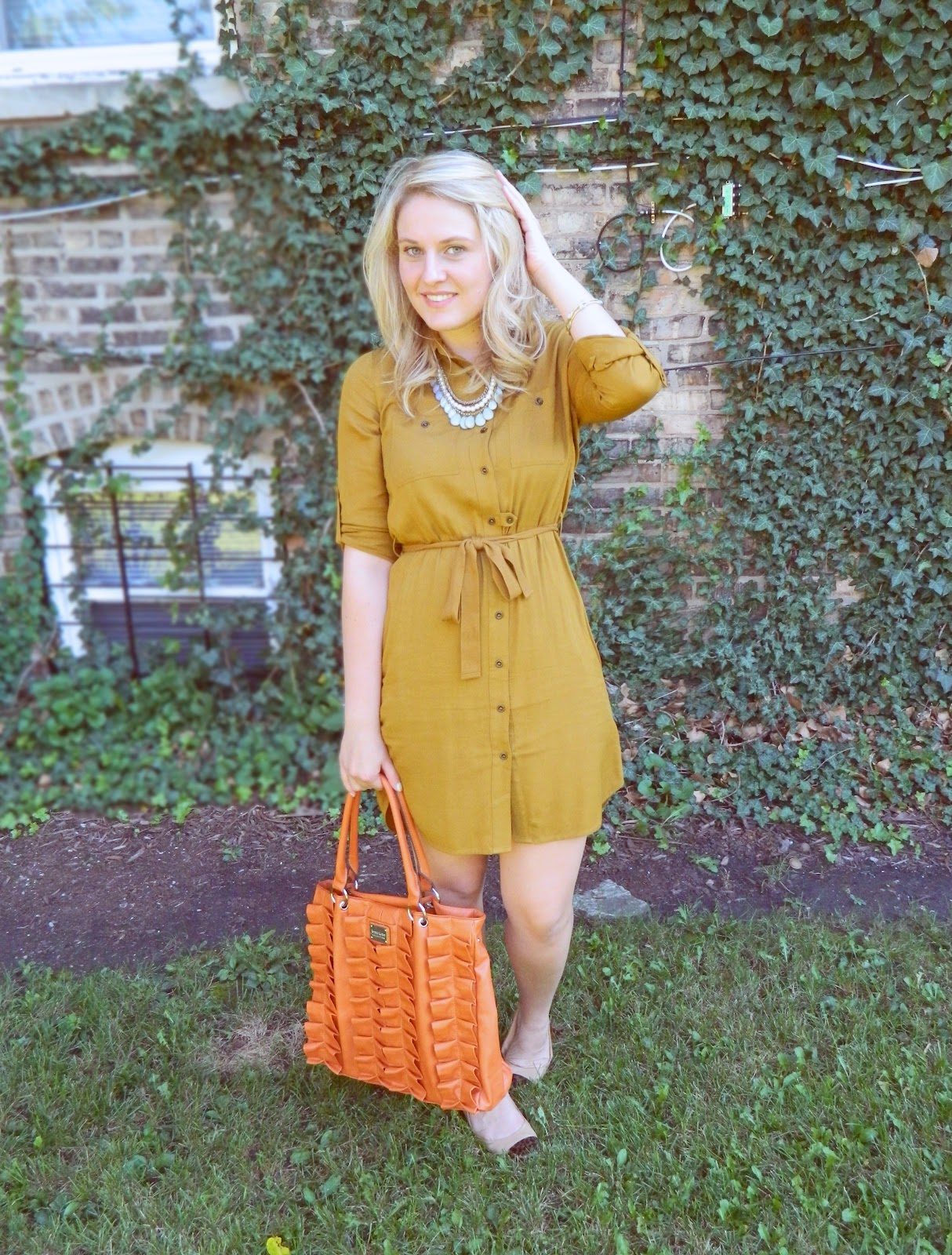 caravan of style: shirt dress