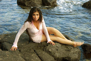 Aarthi Puri Wet Photos On Beach