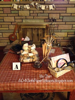#Sherlock Holmes Murder Mystery #TeaParty Decorations by Ida Chan