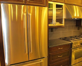 2011 Stainless Kitchen Cabinets
