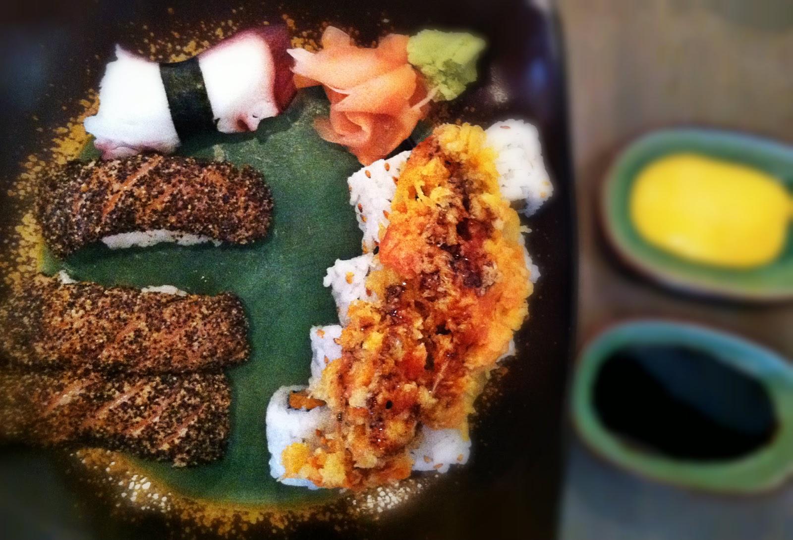 Ginger Cafe Humble Sushi Menu