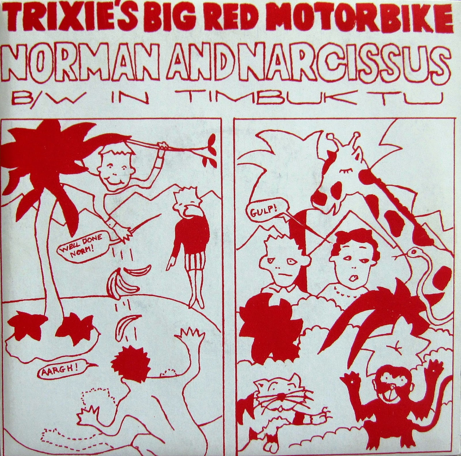 Trixie's Big Red Motorbike - Hold Me