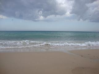 Sea waves and Cloudy sky - L'Almadrava