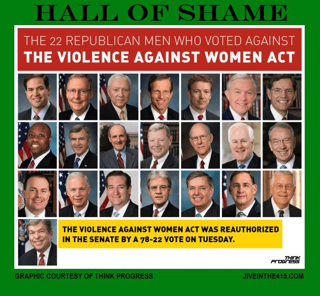 Republican US Senators Hall Of Shame thinkprogress.com