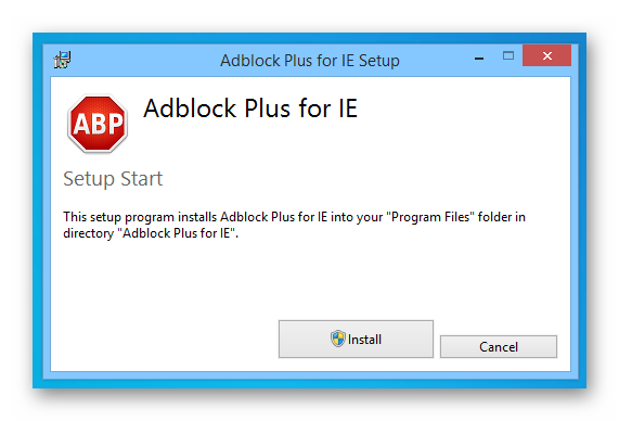 Install ad block