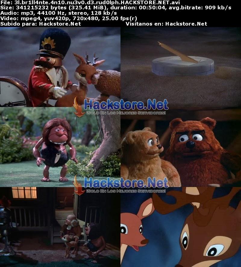 Captura El Brillante Año Nuevo de Rudolph (2000) DVDRip Latino