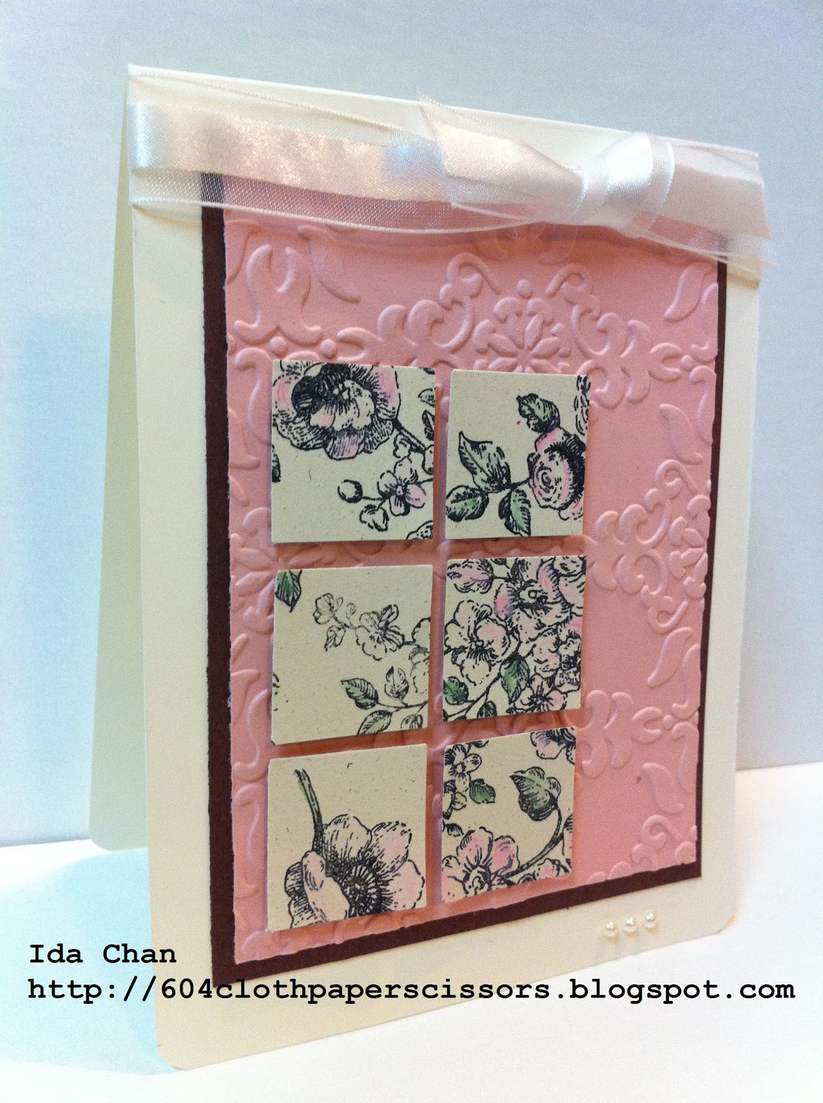 Iron Stampers card by Ida Chan Stampin' Up! Vancouver