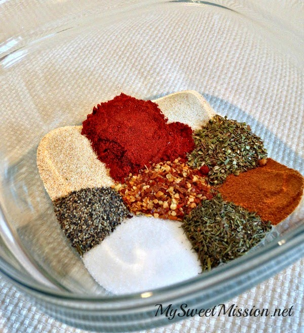 Cajun Spice Mix Recipe by MySweetMission.net