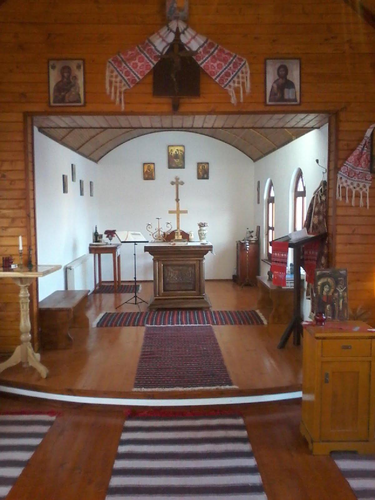 """Biserica """"Sf. Petru"""" - altarul"""