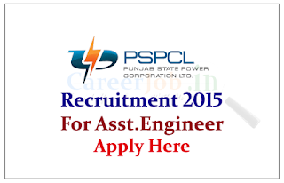 Punjab State Power Corporation Limited Recruitment 2015 for the post of Assistant Engineer and Assistant Manager