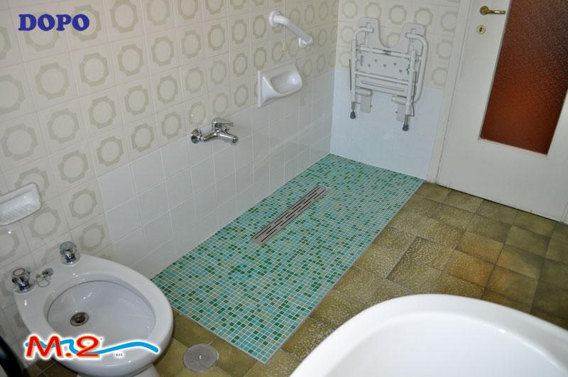 M 2 trasformazione vasca in doccia e sistema vasca nella - Soluzioni vasca doccia ...