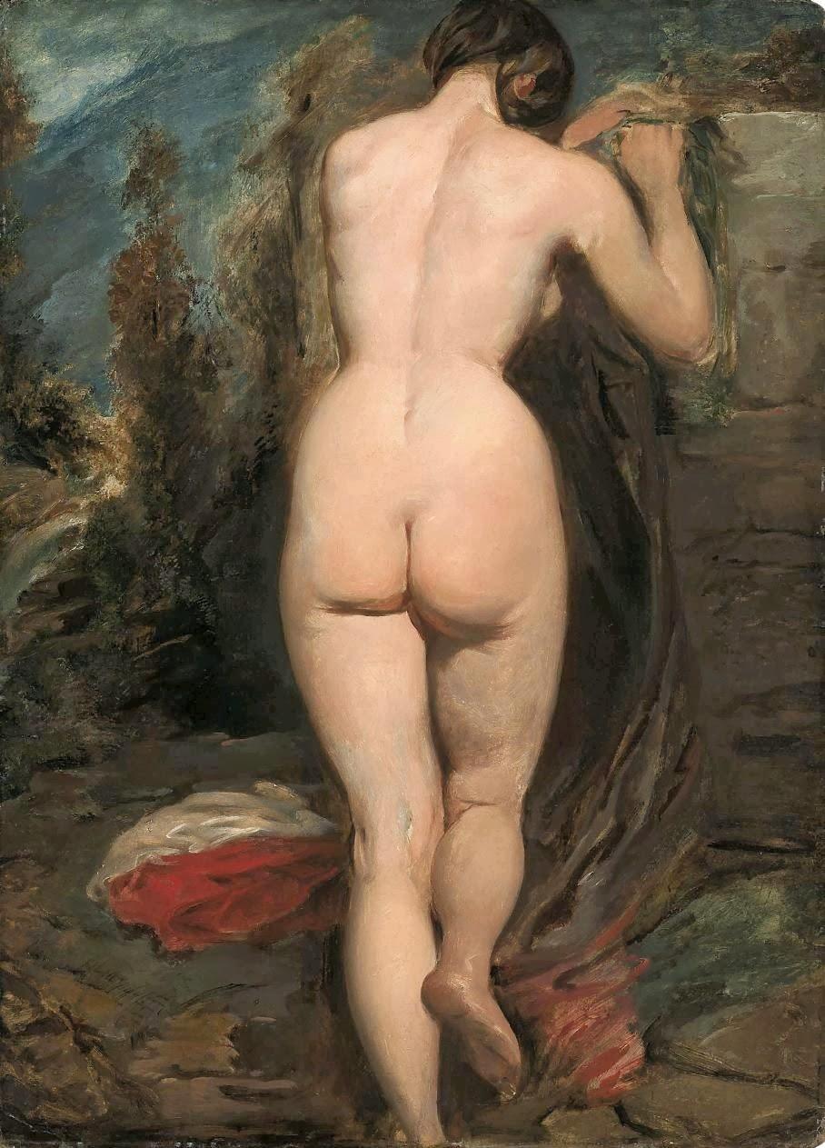 Rear View Woman Standing Nude - Hot Girls Wallpaper
