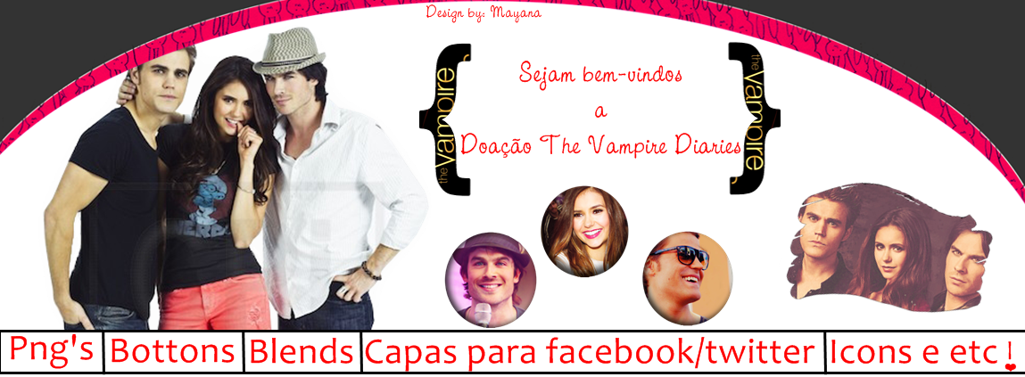 Doação The Vampire Diaries '