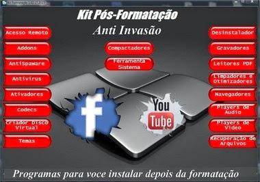 Kit Pos formatacao para seu PC