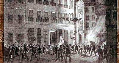 """""""El Asalto al Congreso 24 de enero de 1848"""""""