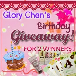 http://glorychen.blogspot.com/2014/07/giveaway-glory-chens-birthday-giveaway.html
