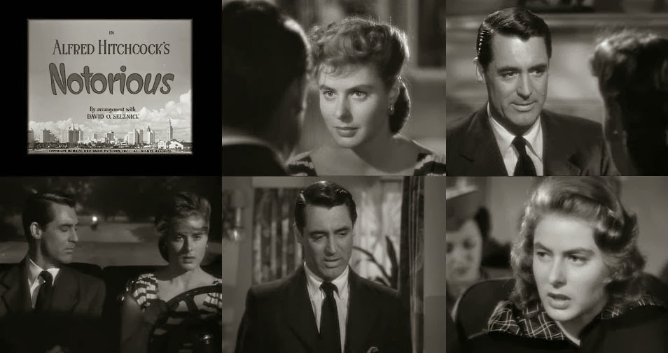 Encadenados 1946 - Cary Grant. Ingrid Bergman