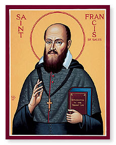 St Francis de Sales, my &#39;13 patron saint