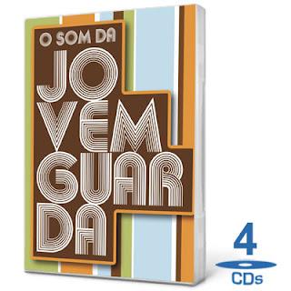 Coletânea O Som da Jovem Guarda   4 CDs 2011